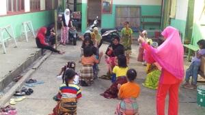 Siswa Sei Nyamuk Gelar Latihan Tari Padduppa