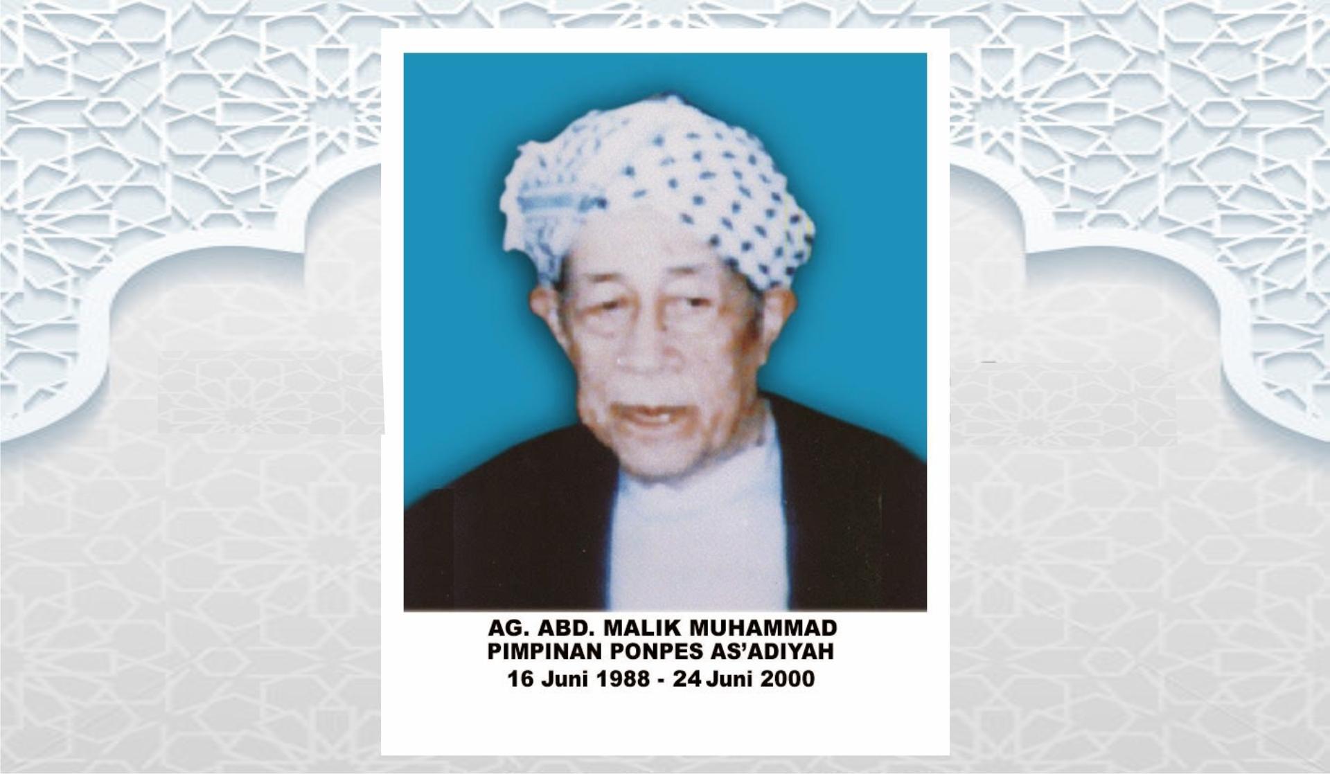 Keberhaslian  Anre Gurutta H. Abul Malik dalam Memimpin Cabang Madrasah As'adiyah