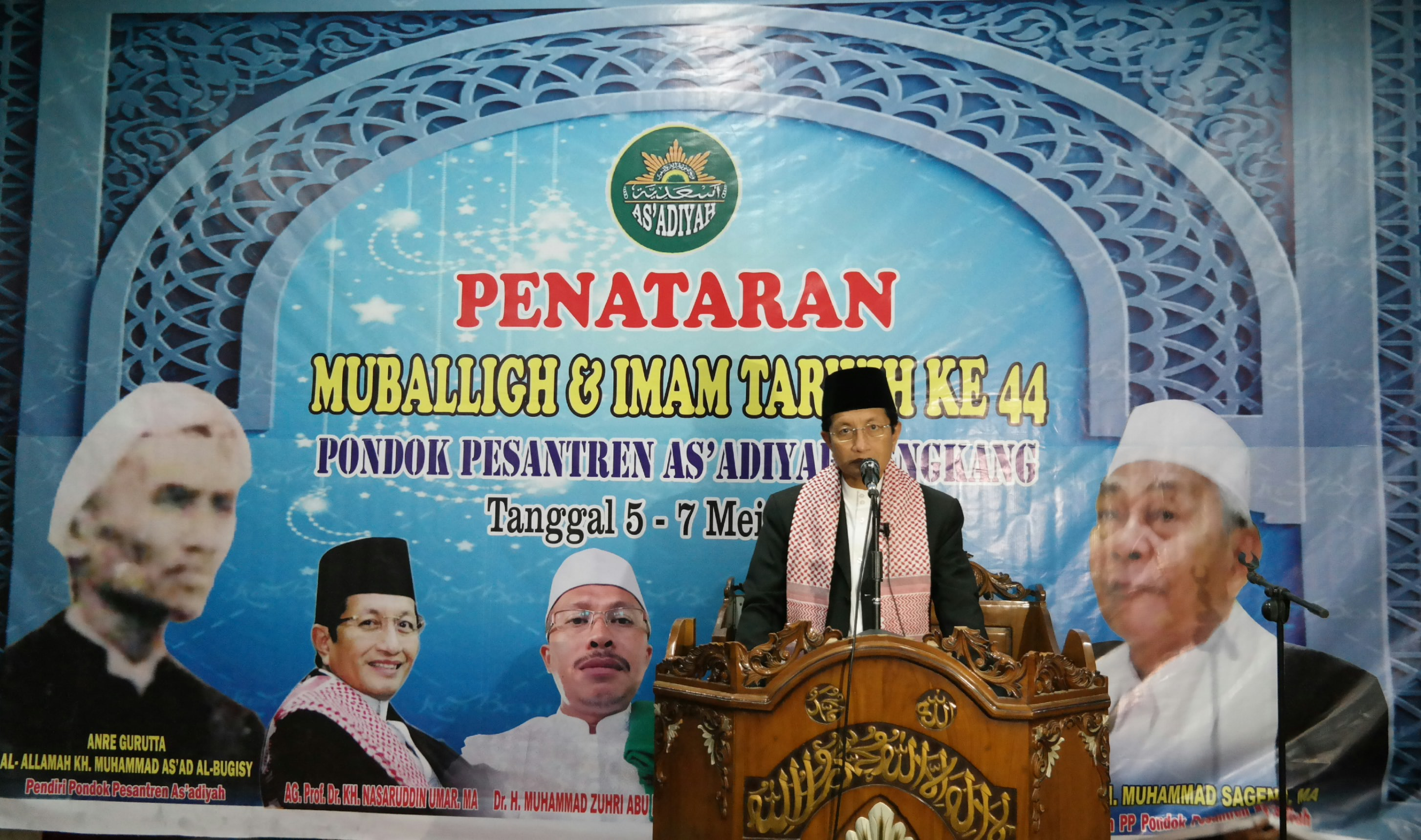 Wajengan Prof.Nasaruddin Umar Kepada Santri