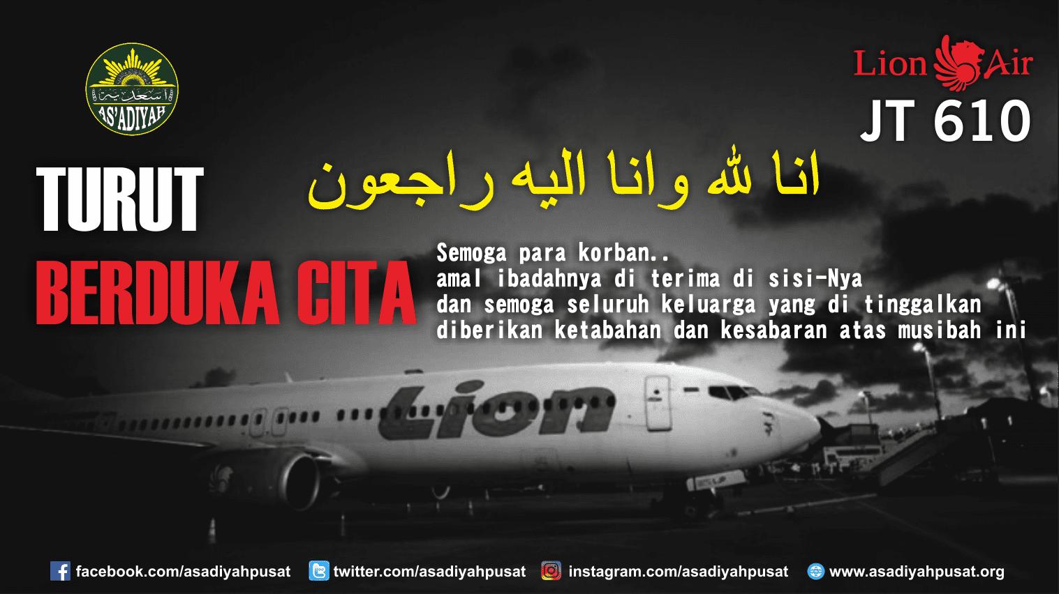 Lion Air Jt 610 Jatuh As Adiyah Pusat
